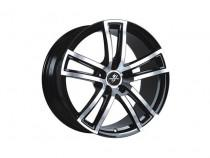 Fondmetal Tech 6 Black polished naked 7,5x17 5x108 ET 45 Dia 65,1 (черный)