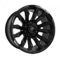 Off Road Wheels OW1588 10x20 10x139.7-150 ET -25 Dia 110 (MATT_BLACK)