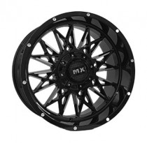 Off Road Wheels OW1594 10x20 12x135-139.7 ET -12 Dia 110 (BKF)
