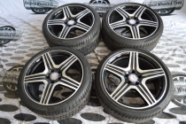 Original Wheels&Tires MRA2184011802 9x19 5x112 ET 37 Dia 66,6 (BKF)
