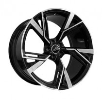 Replica FORGED A953 10,5x21 5x112 ET 19 Dia 66,5 (GLOSS-BLACK-WITH-MACHINED-FACE_FORGED)