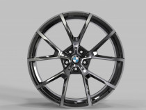 Replica FORGED B192B 10,5x20 5x112 ET 28 Dia 66,5 (GLOSS-BLACK-MACHINED-FACE_FORGED)
