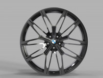 Replica FORGED B2262 11x20 5x120 ET 37 Dia 74,1 (GLOSS-BLACK-WITH-DARK-MACHINED-FACE_FORGED)