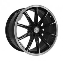 Replica FORGED MR1115C 10x21 5x130 ET 33 Dia 84,1 (GLOSS_BLACK_WITH_MACHINED_FACE_FORGED)