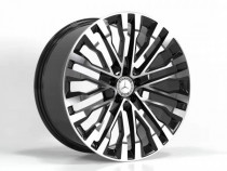 Replica FORGED MR2148 8,5x20 5x112 ET 38 Dia 66,6 (GLOSS-BLACK-MACHINED-FACE_FORGED)
