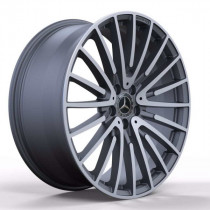 Replica FORGED MR565 9,5x20 5x112 ET 38 Dia 66,6 (MATTE-GUNMETALL-WITH-MACHINED-FACE_FORGED)
