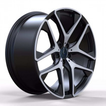Replica FORGED MR942 10x21 5x112 ET 54 Dia 66,6 (MATT_BLACK_WITH_MACHINED_FACE_FORGED)