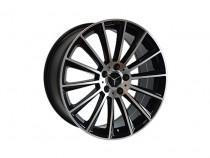 Replica Mercedes MR900 BKF 8,5x20 5x112 ET 38 Dia 66,6 (BKF)