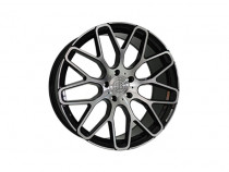 Replica Mercedes MR967 BKF 10x22 5x130 ET 48 Dia 84,1 (BKF)
