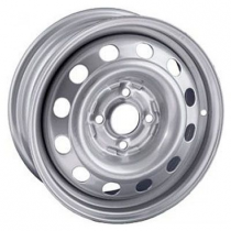 Steel ARRIVO AR022 5,5x14 4x100 ET 43 Dia 60,1 (Silver)