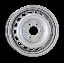 Steel TREBL 616037 5,5x16 6x130 ET 51 Dia 84 (Silver)