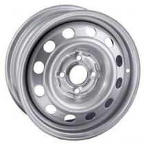 Steel TREBL X40004 5,5x14 4x108 ET 27 Dia 65,1 (Silver)