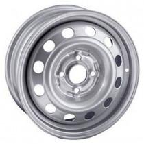 Steel TREBL X40915 6x15 4x100 ET 40 Dia 60,1 (Silver)