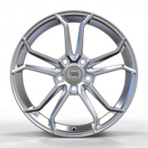 WS FORGED WS1344 8x18 5x120 ET 50 Dia 65,1 (FULL_BRUSH_SILVER_FORGED)