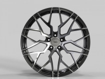 WS FORGED WS2270 10x20 5x112 ET 19 Dia 66,5 (GLOSS_BLACK_MACHINED_FACE_FORGED)