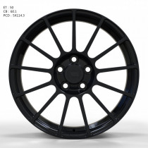 WS FORGED WS923B 8x18 5x114.3 ET 50 Dia 60,1 (Gloss_Black_FORGED)