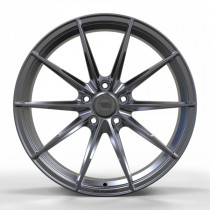 WS FORGED WS947 8,5x19 5x114.3 ET 50 Dia 64,1 (FULL_BRUSH_BLACK_FORGED)