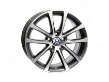 WSP Italy W454 EOS Riace Volkswagen 7,5x17 5x112 ET 47 Dia 57,1 (антрацит полированный)